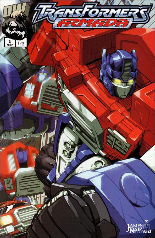 Transformers: Armada 4-A by Dreamwave
