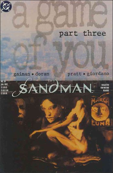 Sandman (1989) 34-A by Vertigo