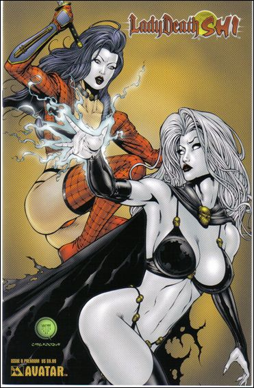Lady Death/Shi 0-G by Avatar Press