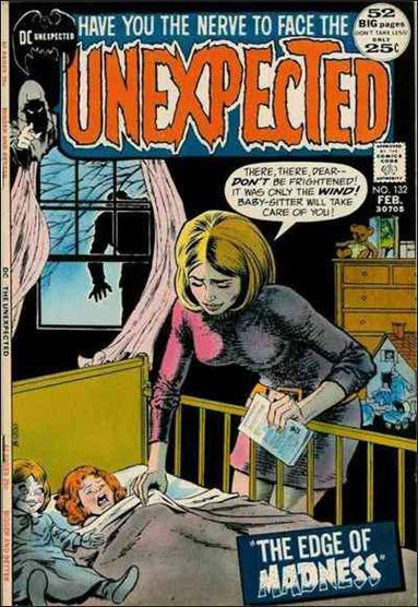 Unexpected (1968) 132-A by DC