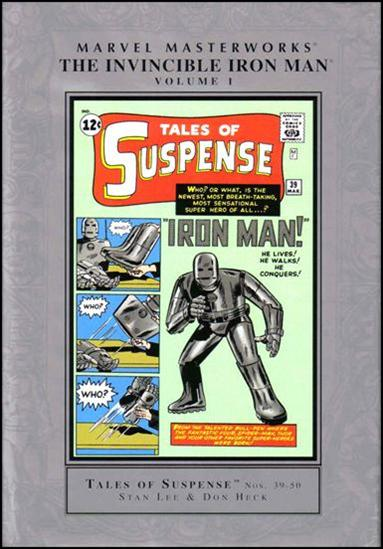 Marvel Masterworks: The Invincible Iron Man 1-C by Marvel