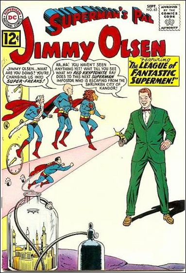 Superman's Pal Jimmy Olsen 63-A by DC