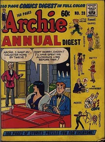 Archie Annual Digest Magazine 28-A by Archie