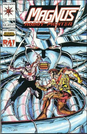 Magnus Robot Fighter (1991) 37-A by Valiant