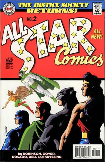 All Star Comics (1999) 2-A by DC