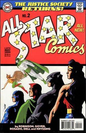 All Star Comics (1999) 2-A
