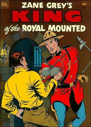 King of the Royal Mounted 8-A