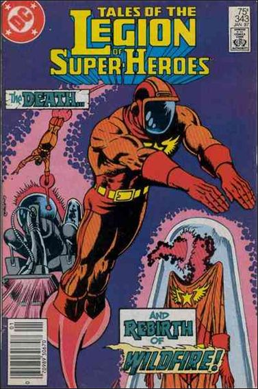 Tales of the Legion of Super-Heroes 343-A by DC