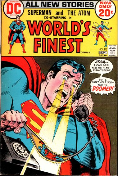 World's Finest Comics 213-A by DC