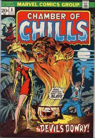 Chamber of Chills (1972) 5-A by Marvel