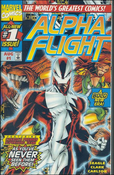 Alpha Flight (1997) 1-A by Marvel