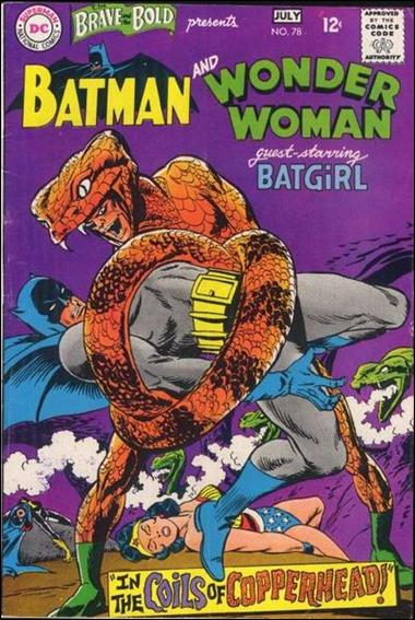 Brave and the Bold (1955) 78-A by DC