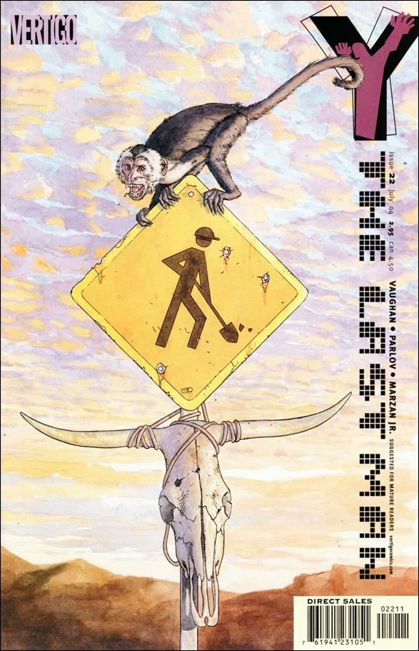 Y: The Last Man 22-A by Vertigo