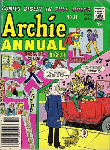 Archie Annual Digest Magazine 34-A by Archie