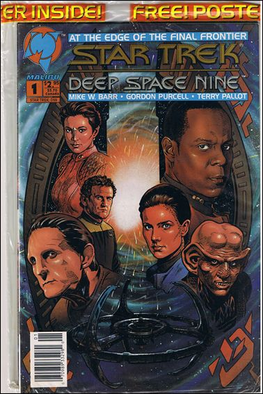 Star Trek: Deep Space Nine (1993) 1-D by Malibu