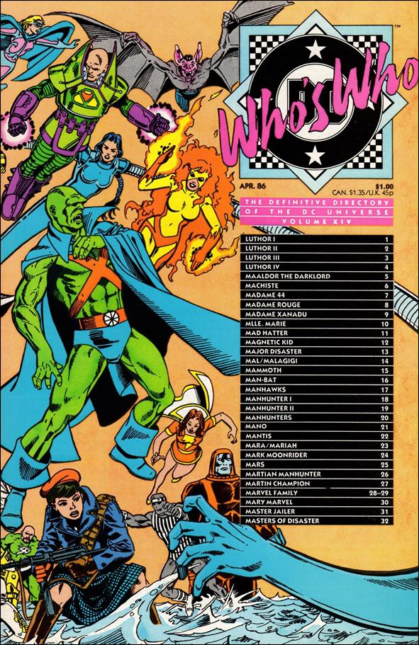 Who's Who: The Definitive Directory of the DC Universe 14-A by DC