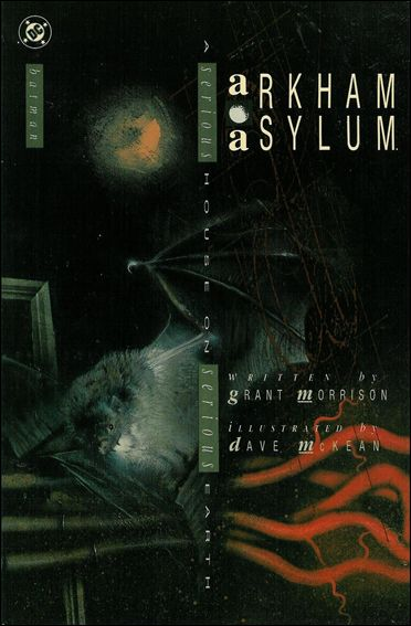 Arkham Asylum 1-B by DC