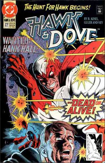 Hawk and Dove (1989) 27-A by DC