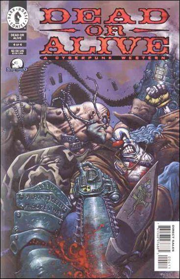 Dead or Alive-A Cyberpunk Western 4-A by Dark Horse