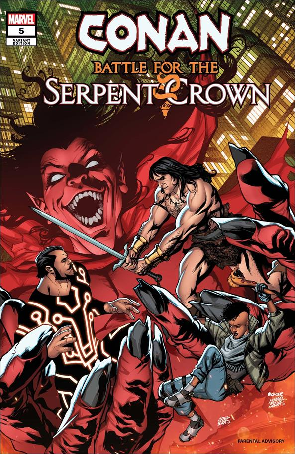 Conan: Battle for the Serpent Crown 5-B by Marvel