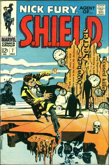 Nick Fury, Agent of S.H.I.E.L.D. (1968) 7-A by Marvel