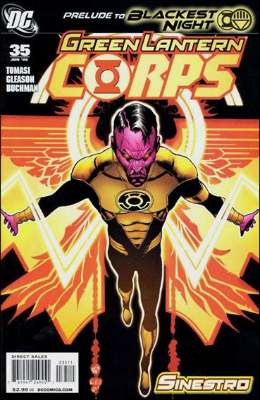 Green Lantern Corps (2006) 35-A by DC