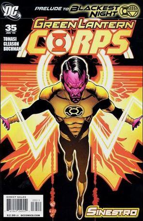 Green Lantern Corps (2006) 35-A