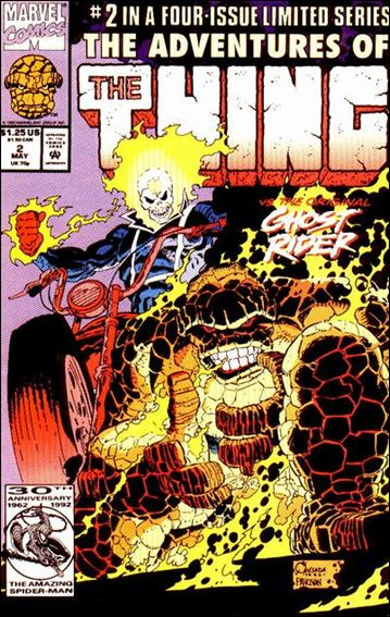 Adventures of the Thing 2-A by Marvel