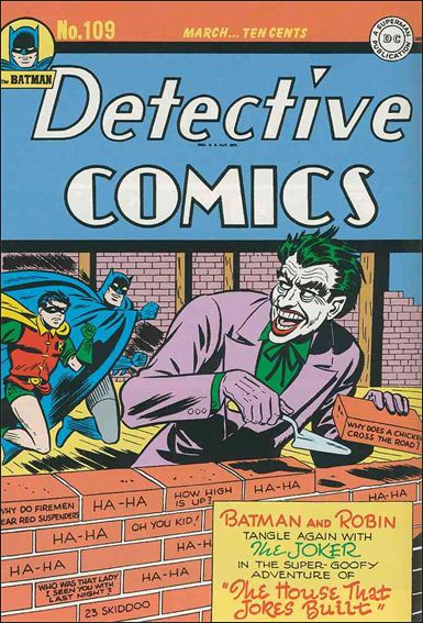 Detective Comics (1937) 109-A by DC