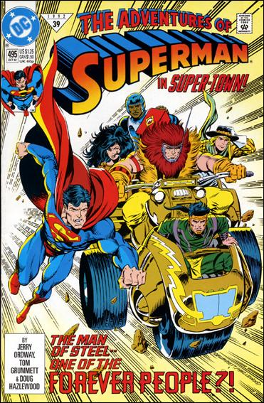 Adventures of Superman (1987) 495-A by DC