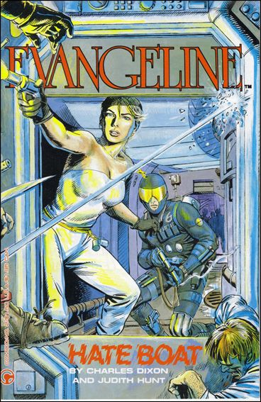 Evangeline (1984) 2-A by Comico