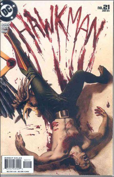 Hawkman (2002) 21-A by DC