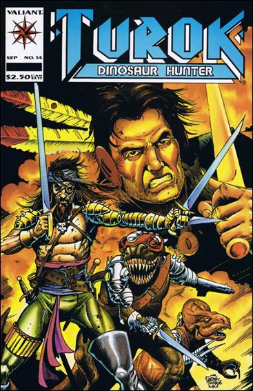 Turok, Dinosaur Hunter (1993) 14-A by Valiant