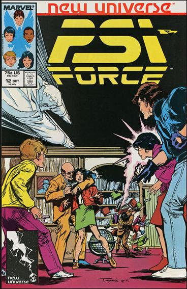 Psi-Force 12-A by Marvel