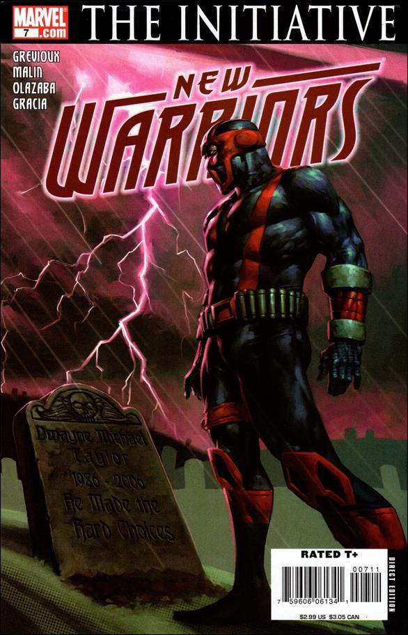 New Warriors (2007) 7-A by Marvel