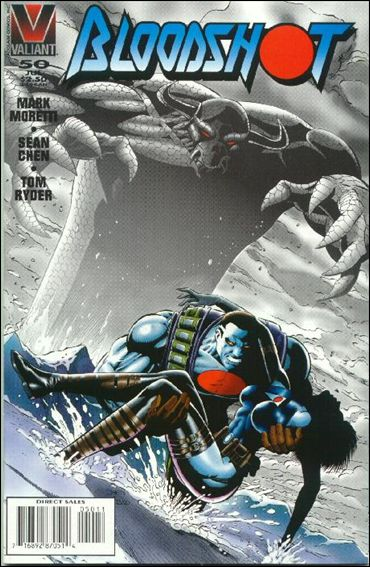 Bloodshot (1993) 50-A by Valiant