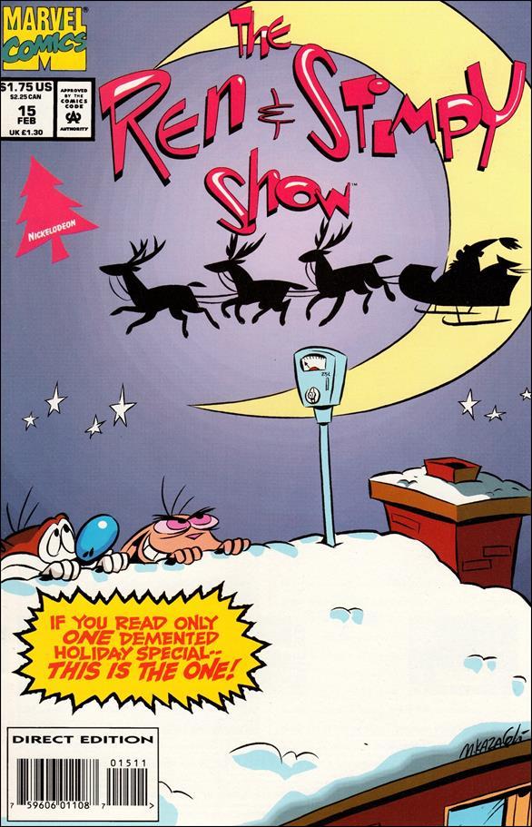 Ren & Stimpy Show 15-A by Marvel
