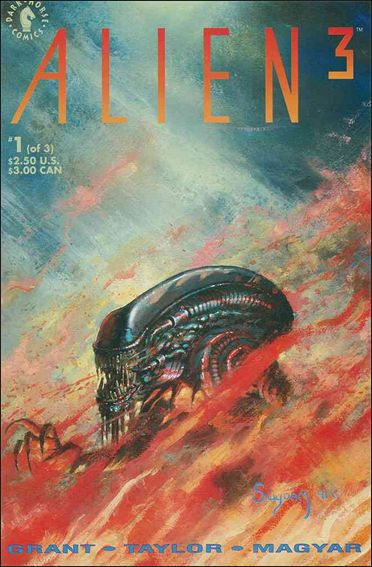 Alien 3 1-A by Dark Horse