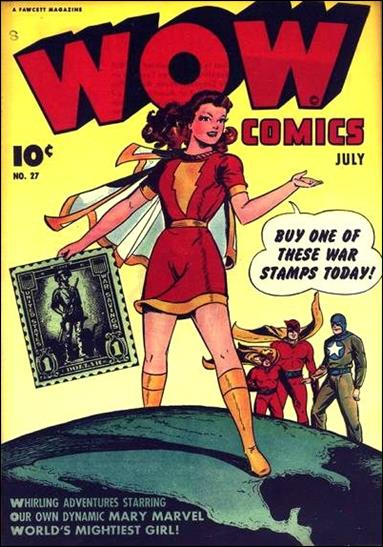 Wow Comics (1940) 27-A by Fawcett