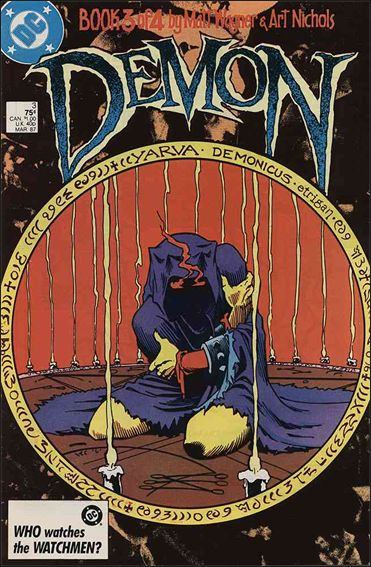 Demon (1987) 3-A by DC