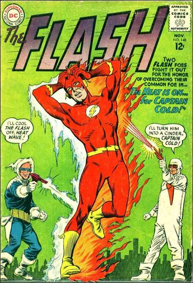 Flash (1959) 140-A by DC