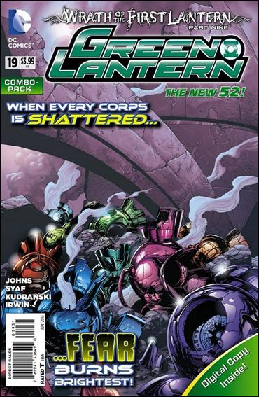 Green Lantern (2011) 19-C by DC