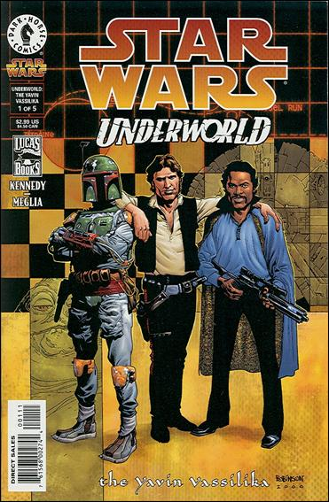Star Wars: Underworld - The Yavin Vassilika 1-A by Dark Horse
