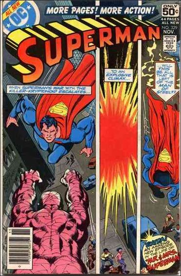 Superman (1939) 329-A by DC
