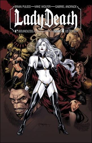 Lady Death (2010) 8-A by Boundless Comics