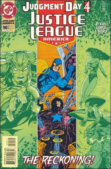 Justice League America 90-A by DC