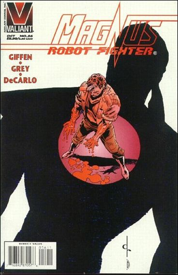 Magnus Robot Fighter (1991) 56-A by Valiant