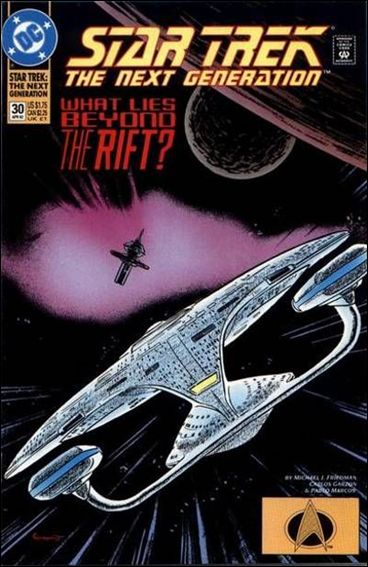 Star Trek: The Next Generation (1989) 30-A by DC