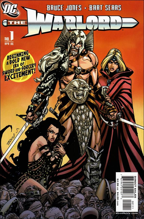 Warlord (2006) 1-A by DC