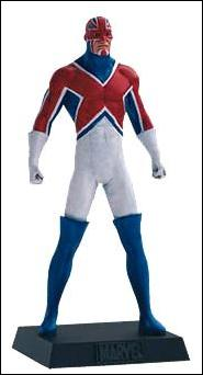 Classic Marvel Figurine Collection (UK) Captain Britain by Eaglemoss Publications